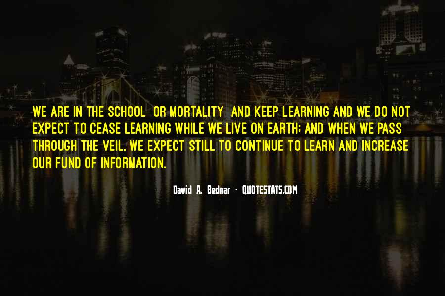 Keep On Learning Quotes #28920