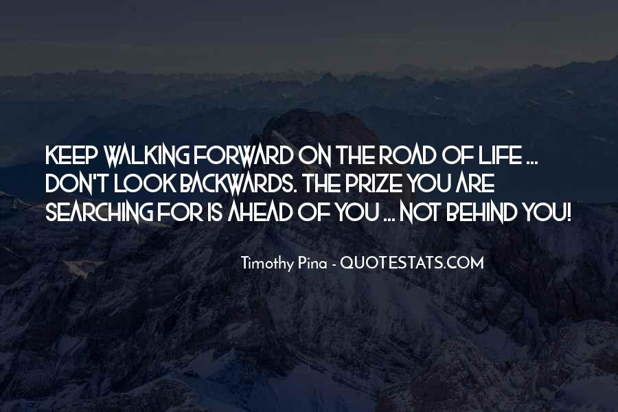 Keep On Walking Quotes #1748856