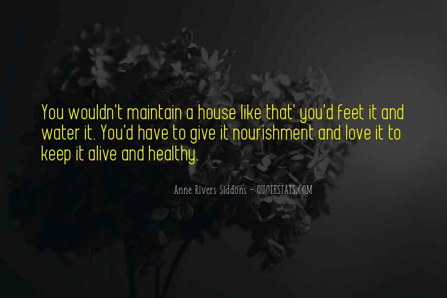 Keep Our Love Alive Quotes #206282