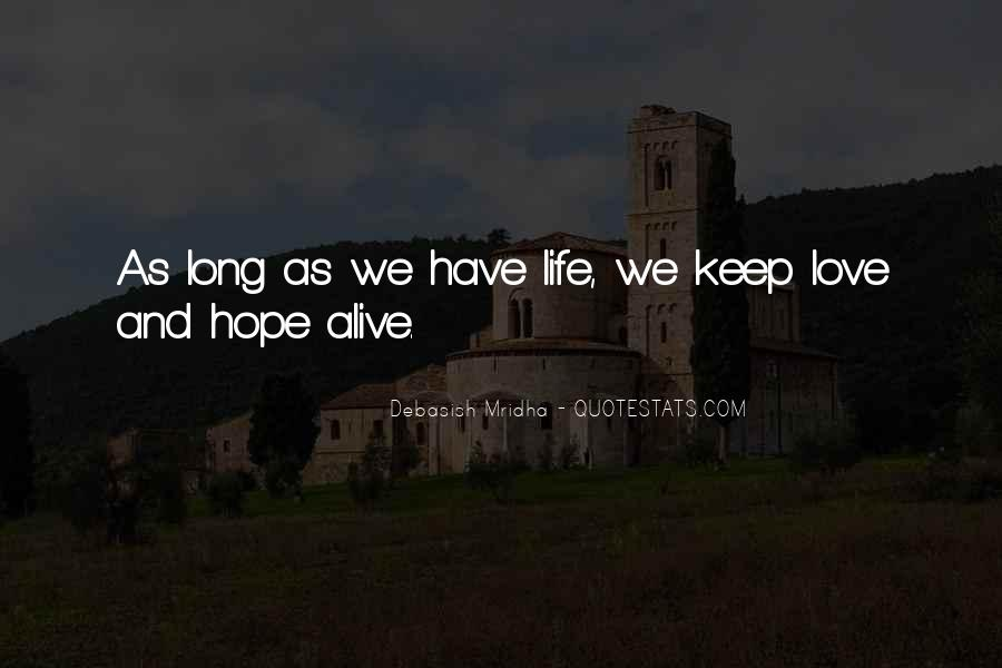Keep Our Love Alive Quotes #856581