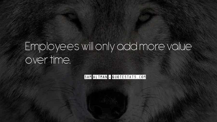 Quotes About Employee Value #1522041