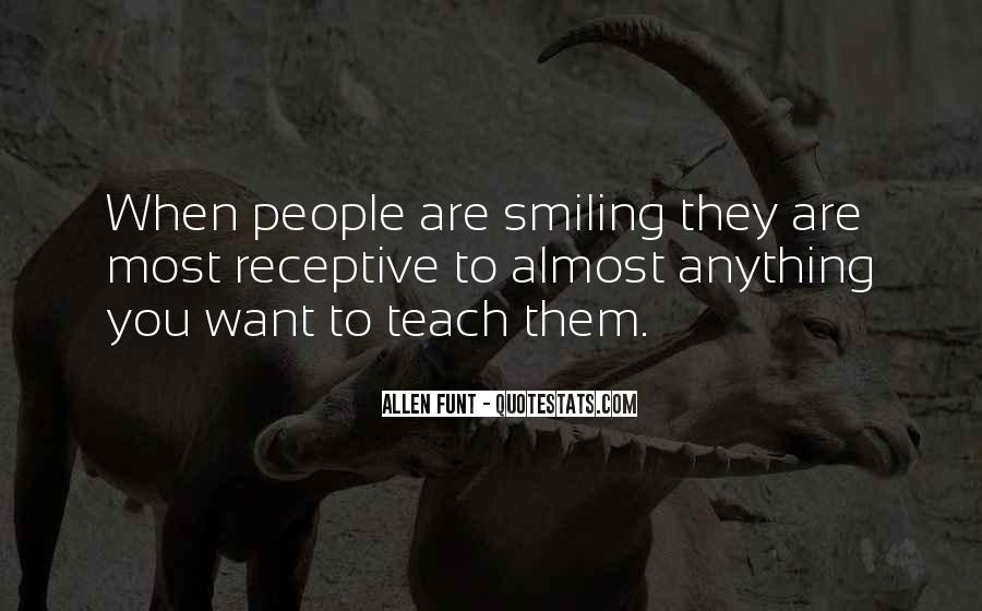 Keep Smiling Even Though Quotes #59673