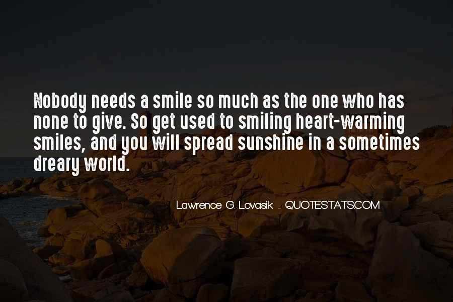Keep Smiling Even Though Quotes #90469