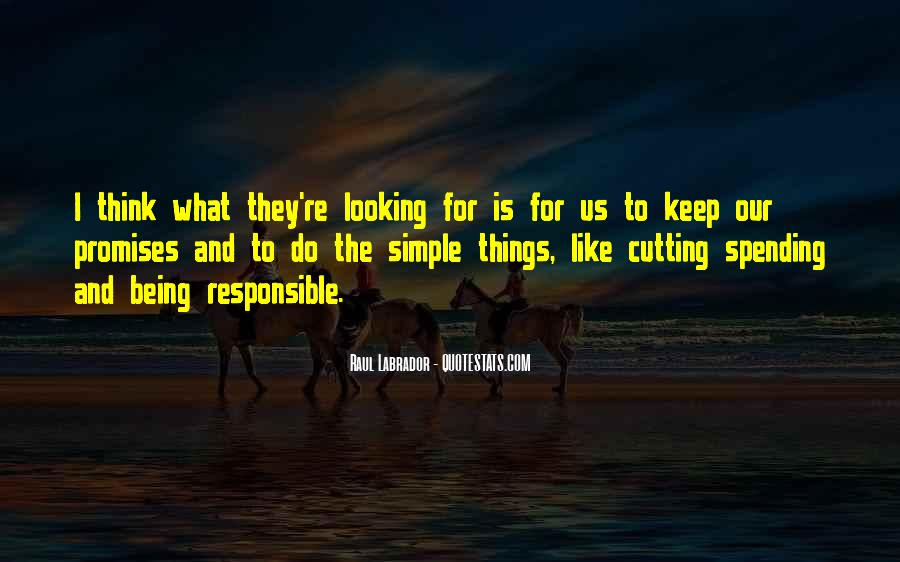 Keep Things Simple Quotes #1071469