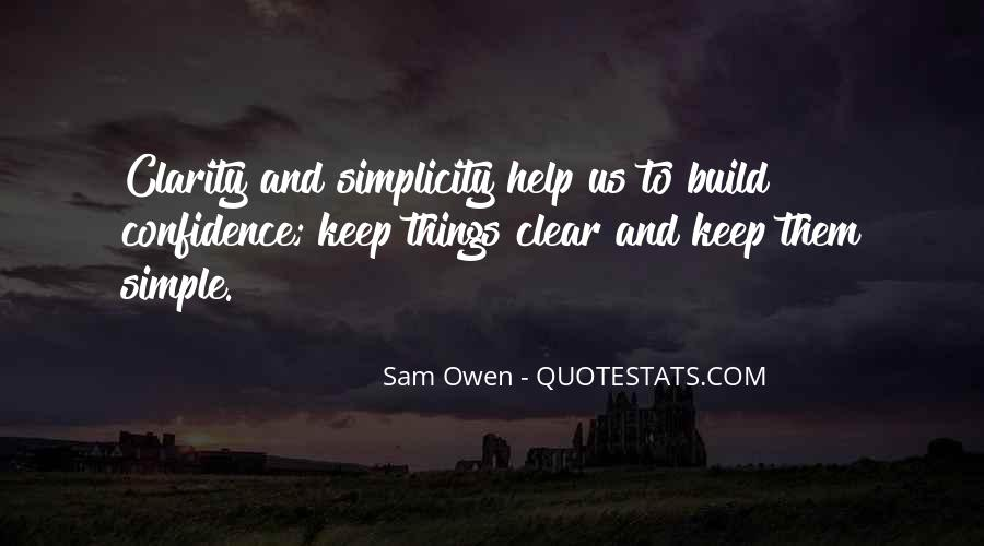 Keep Things Simple Quotes #1505484