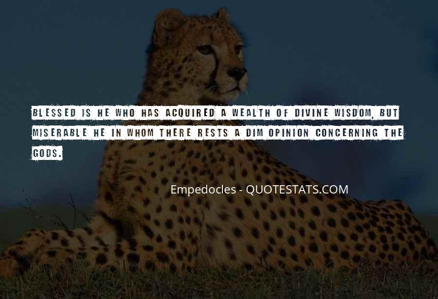 Quotes About Empedocles #268300