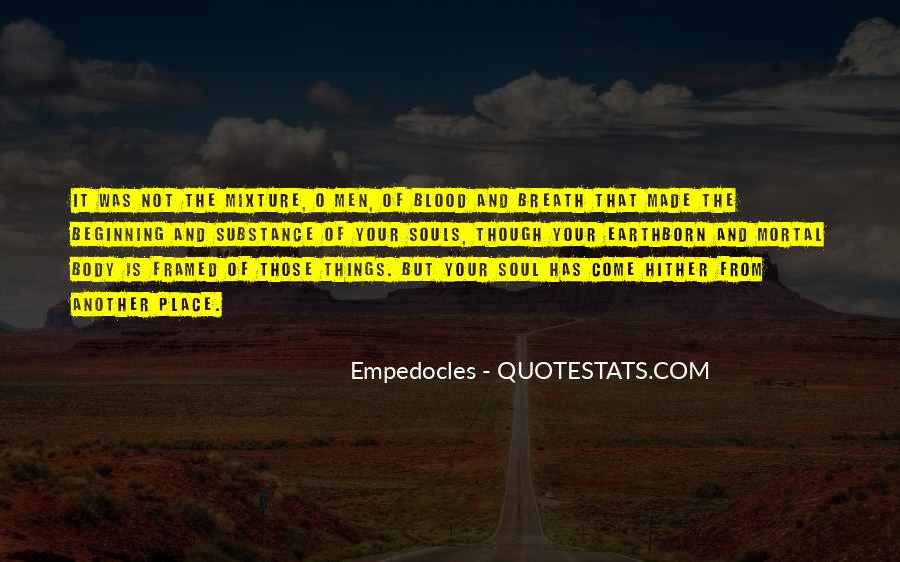 Quotes About Empedocles #450145