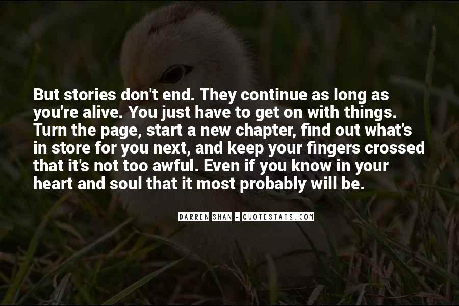 Keep Your Fingers Crossed Quotes #1130704