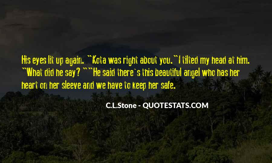 Keep Your Head Up Beautiful Quotes #1760051