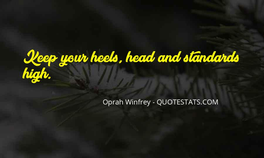 Keep Your Head Up High Quotes #1158640