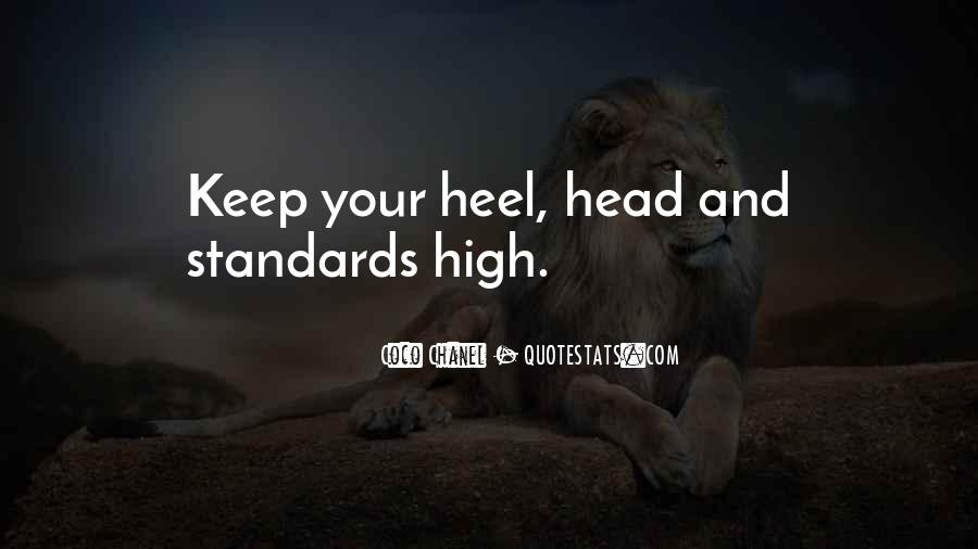 Keep Your Head Up High Quotes #339329