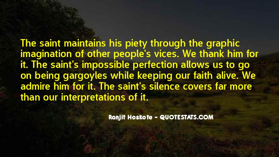 Keeping Up The Faith Quotes #1102702