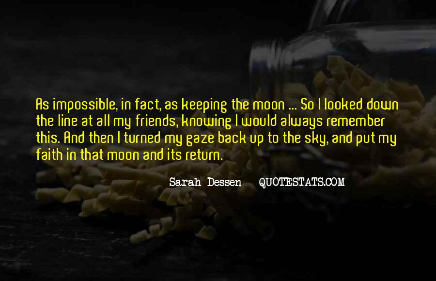 Keeping Up The Faith Quotes #538934
