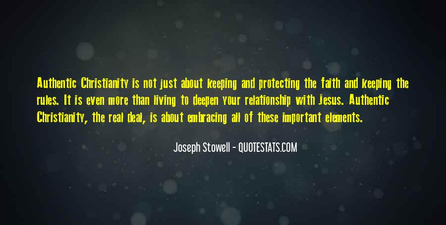 Keeping Up The Faith Quotes #998910