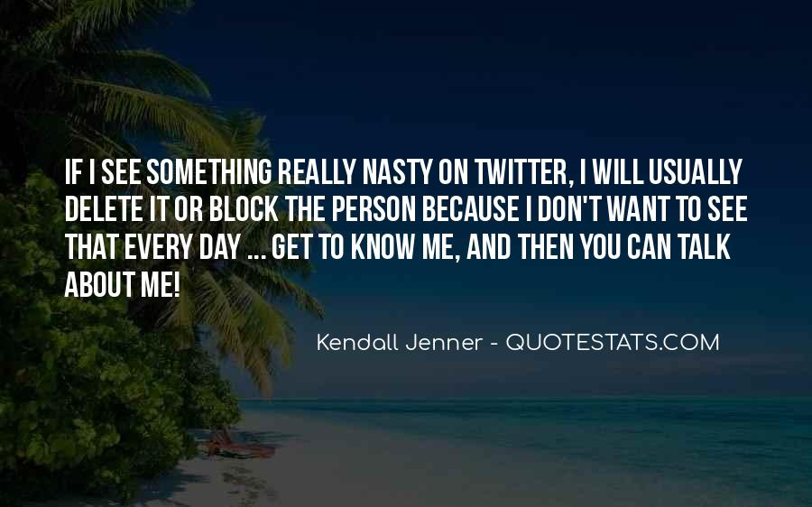 Kendall Jenner Twitter Quotes #1461639