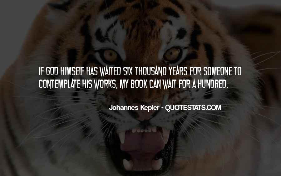 Kepler's Quotes #1176360