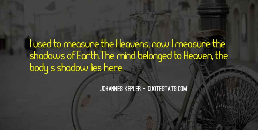 Kepler's Quotes #1178367