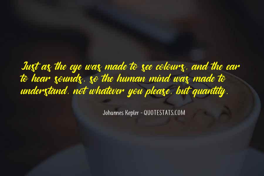 Kepler's Quotes #1279997