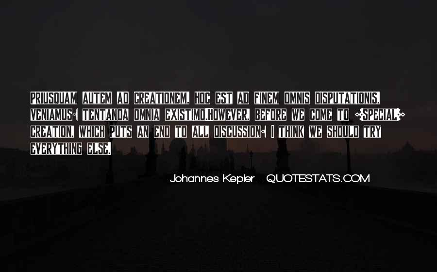 Kepler's Quotes #1539986