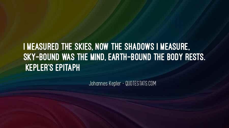 Kepler's Quotes #302390