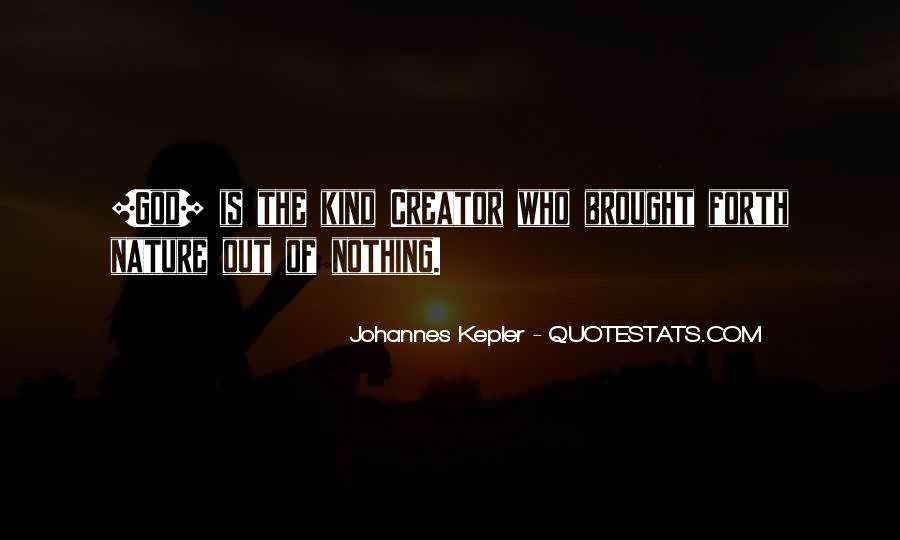 Kepler's Quotes #524782