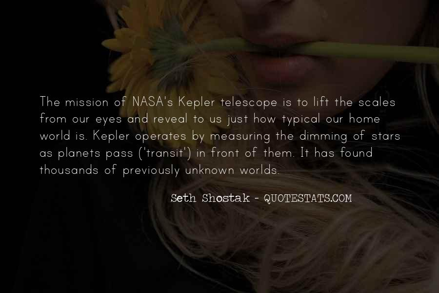 Kepler's Quotes #64710