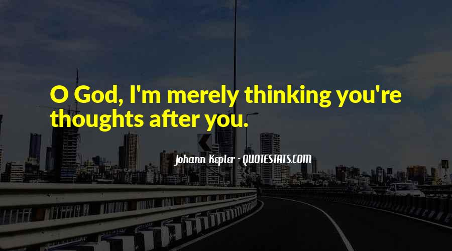 Kepler's Quotes #737789