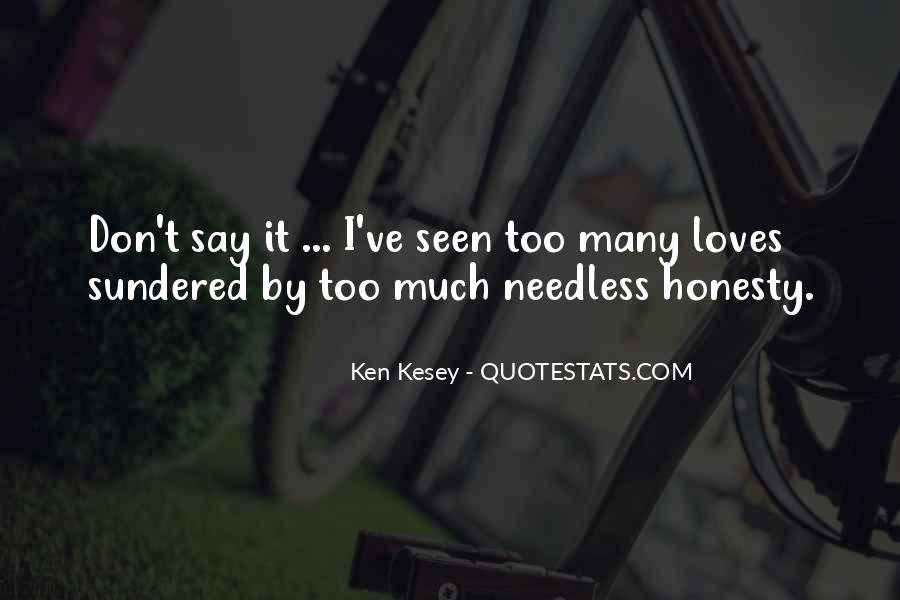 Kesey Quotes #328496