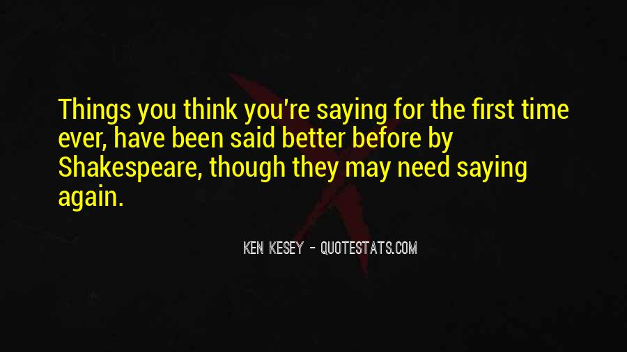 Kesey Quotes #454271