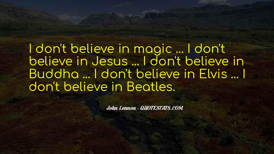 Quotes About Elvis By The Beatles #1190061