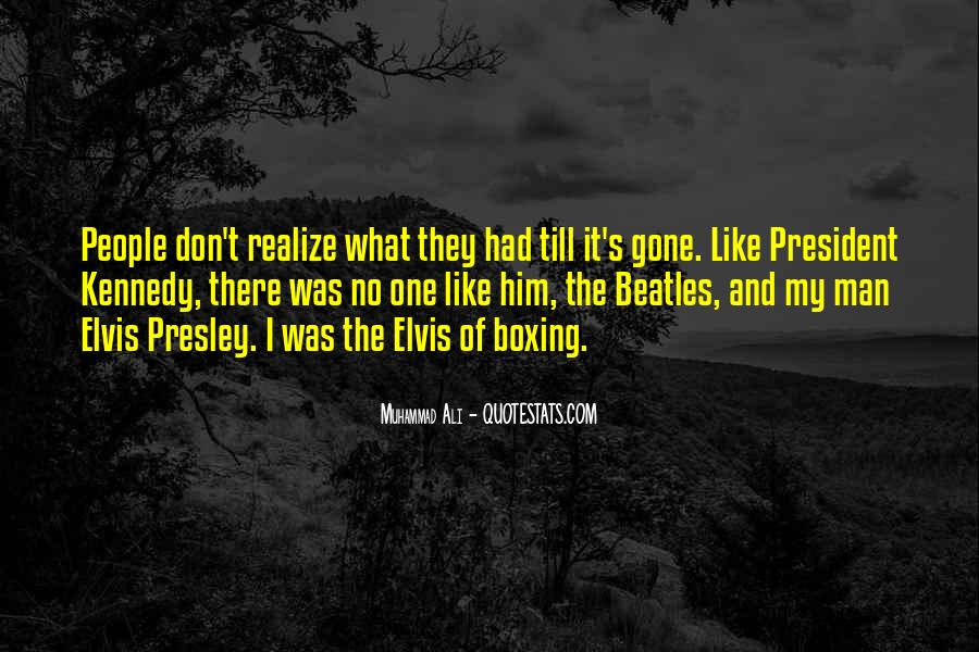 Quotes About Elvis By The Beatles #1841497