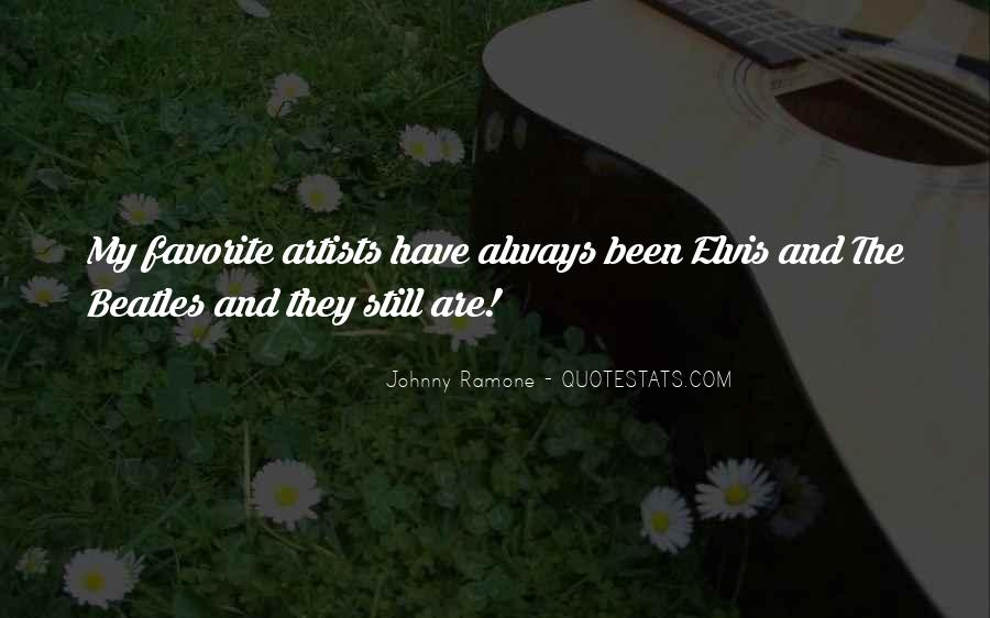 Quotes About Elvis By The Beatles #39498