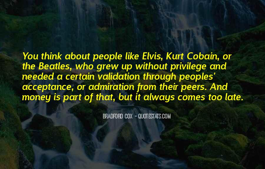Quotes About Elvis By The Beatles #492407
