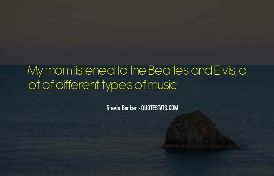 Quotes About Elvis By The Beatles #554111