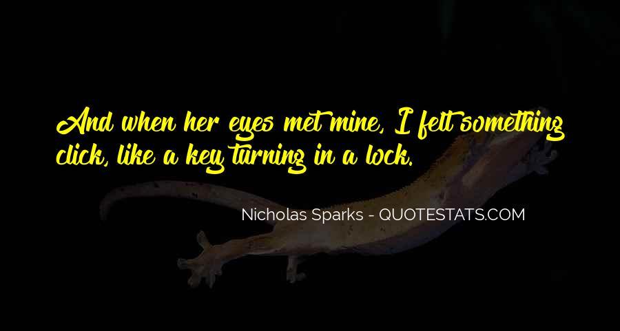 Key Lock Quotes #1025195