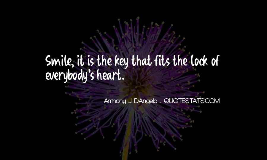 Key Lock Quotes #103344