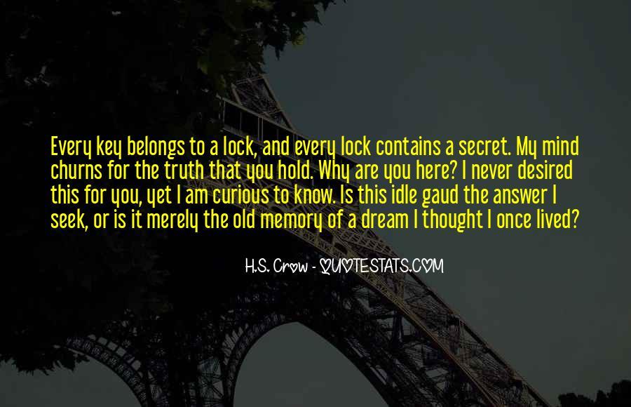 Key Lock Quotes #1045117