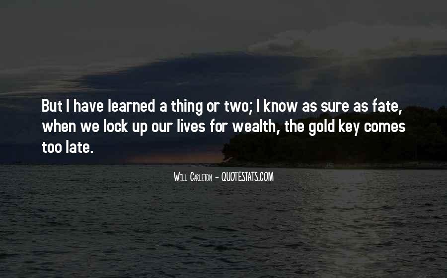 Key Lock Quotes #1164316