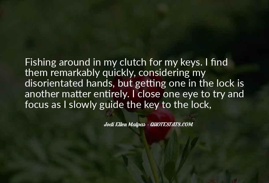 Key Lock Quotes #1273932