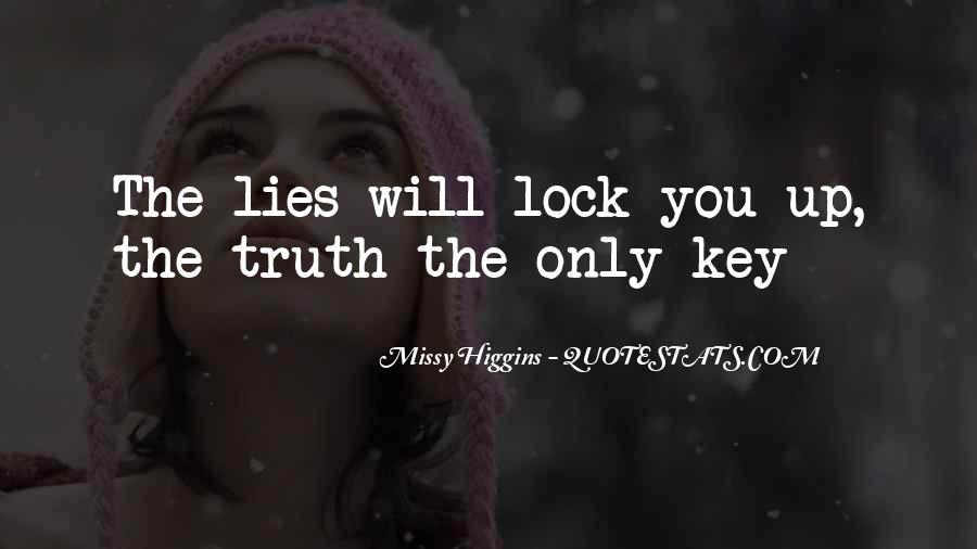 Key Lock Quotes #1458578
