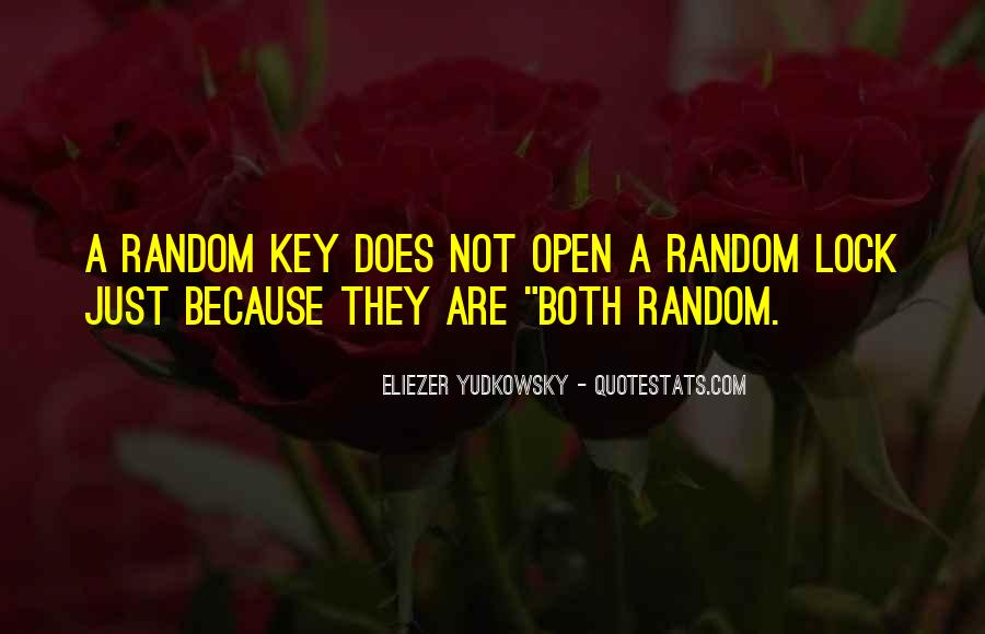 Key Lock Quotes #234075