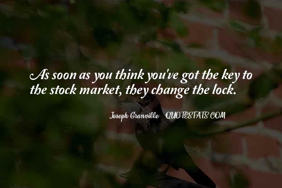 Key Lock Quotes #237562
