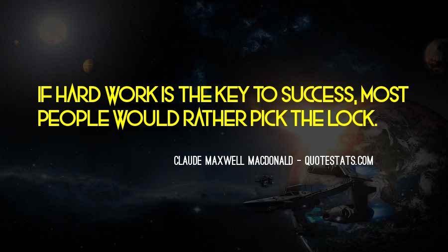 Key Lock Quotes #254587