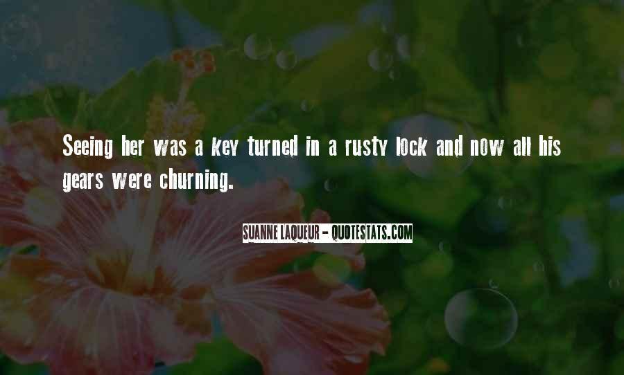 Key Lock Quotes #328040