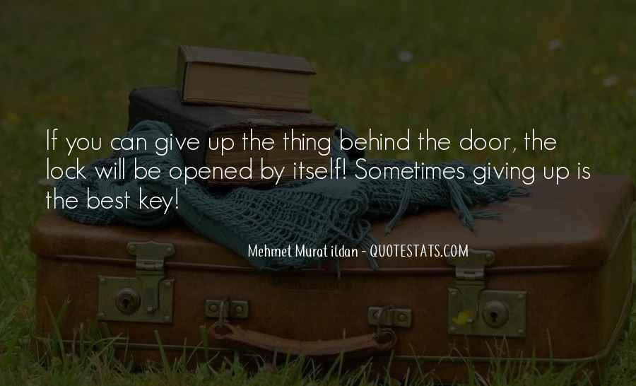 Key Lock Quotes #45770