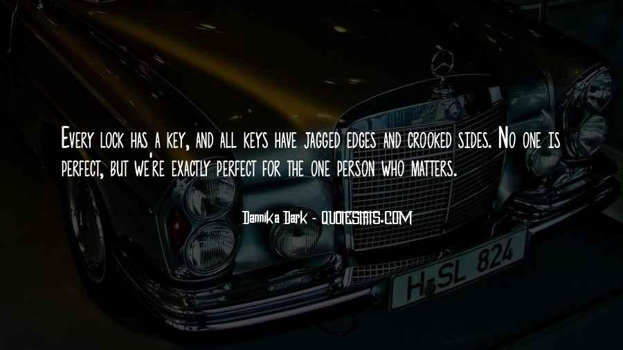 Key Lock Quotes #529206