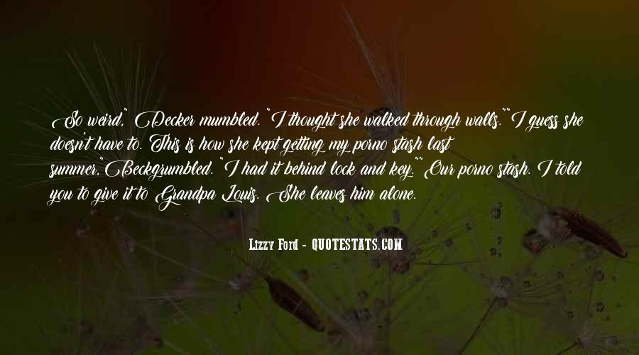 Key Lock Quotes #598826