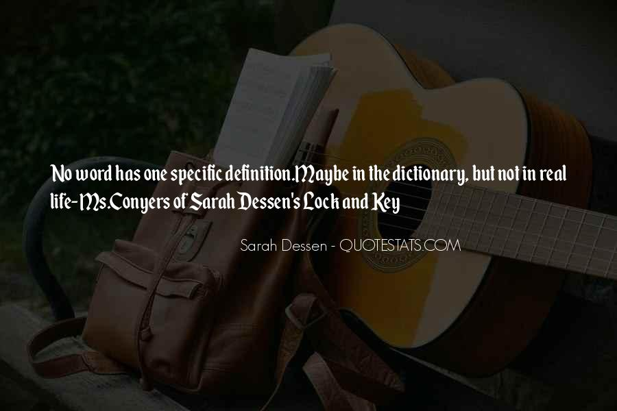 Key Lock Quotes #611878