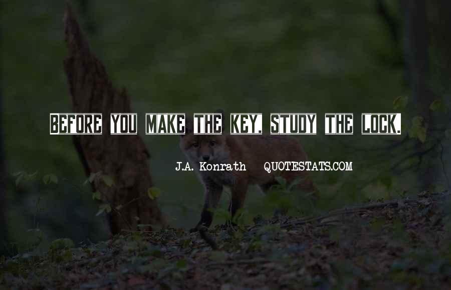 Key Lock Quotes #624792