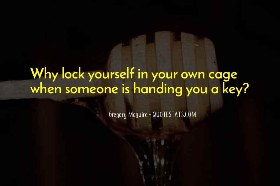 Key Lock Quotes #627761